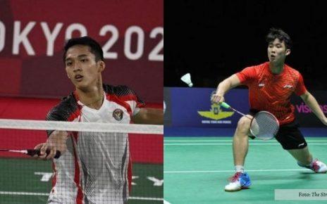 Olimpiade tokyo 2020 Jonathan Christie vs Loh Kean Yew Bermain Sengit