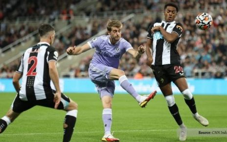 Newcastle vs Leeds Mentok Di Skor Imbang 1-1