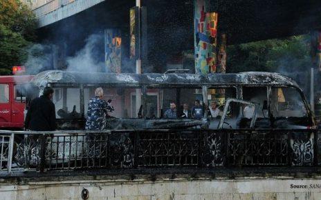 Ledakan Bom di Damaskus Menewaskan 13 Orang