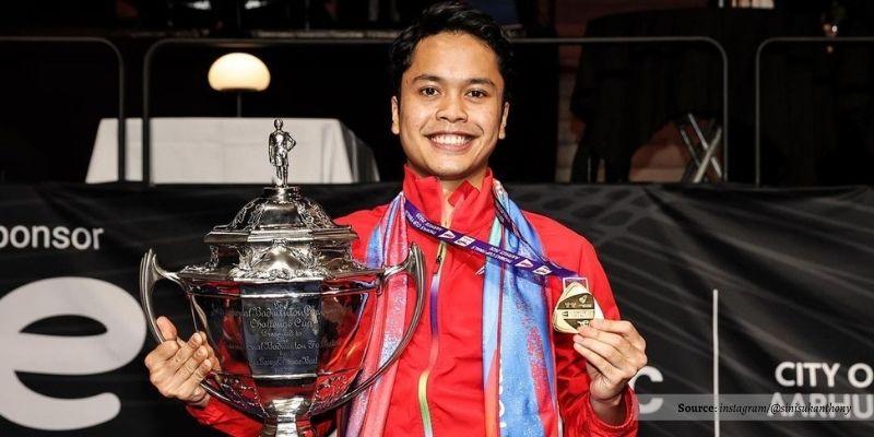 Pukulan Andalannya Dipuji Dunia, Ginting Akui Nerveous Di Final Thomas Cup